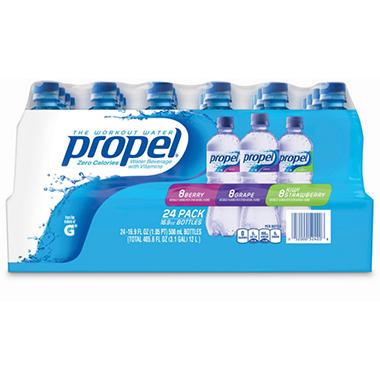 Propel® Zero Water™ Variety - 24/16.9 oz.