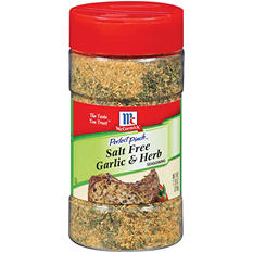 Perfect Pinch™ Salt Free Garlic & Herb - 7.75 oz.