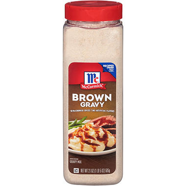McCormick Brown Gravy Mix (21 oz.)