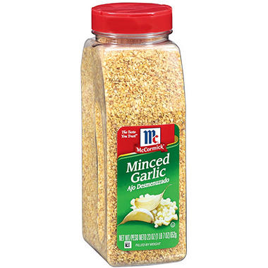 McCormick® Minced Garlic - 23 oz.