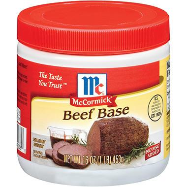 McCormick® Beef Base - 16 oz.