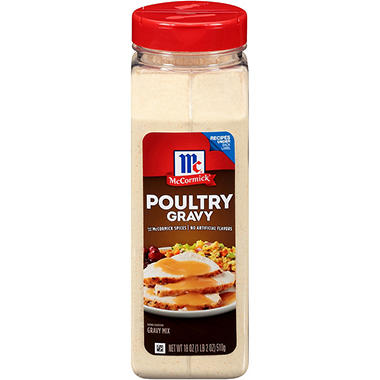 McCormick Poultry Gravy Mix for Chicken & Turkey (18 oz.)