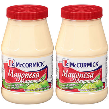 McCormick� Mayonnaise with Lime Juice - 2 pk. - 28 oz.