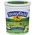 Stonyfield Organic Yogurt French Vanilla 32oz