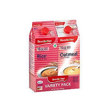 Beech-Nut Cereal for Baby Variety, 16 oz. - 2 pk.