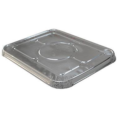 WonderFoil Aluminum Lid for Half Size Steamtable Pan - 30 ct.