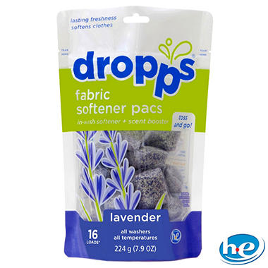 Dropps - Fabric Softener Pacs, Lavender - 96 Loads