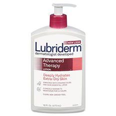 Lubriderm - Advanced Therapy Moisturizing Hand/Body Lotion -  16oz Pump Bottle