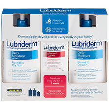 Lubriderm Daily Moisture Lotion - Multi Pack