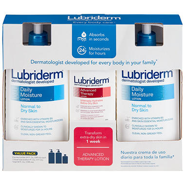 Lubriderm® Dermatologist Developed - Multi Pack