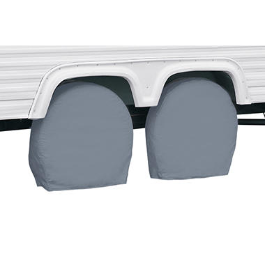 Classic Accessories RV Wheel Covers - 29 inches to 31.75 inches