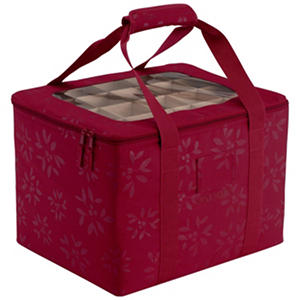 Seasons Ornament Organizer & Storage Bin