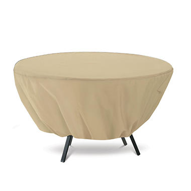 Round Patio Table Cover - Sand