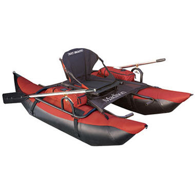 Madison 7' Pontoon Boat w/Stadium Seat - Brick
