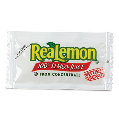 ReaLemon Lemon Juice - 4g packets - 200 ct.