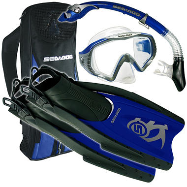 Sea Doo Snorkel Set - Medium - Blue