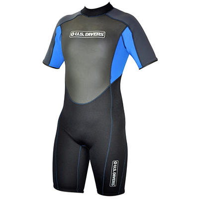 U.S. Divers Adult Multi Sport Shorty Wetsuit - L