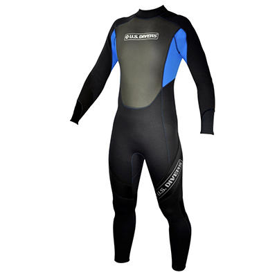 U.S. Divers Adult Multi Sport Full Wetsuit - XL