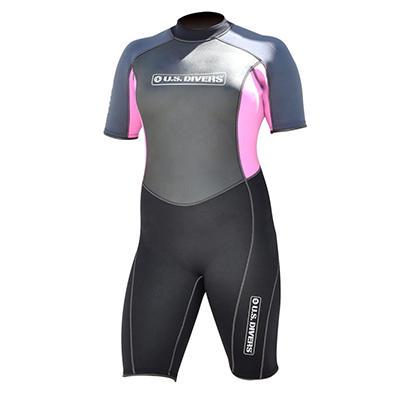 U.S. Divers Lady Multi Sport Shorty Wetsuit - M/L