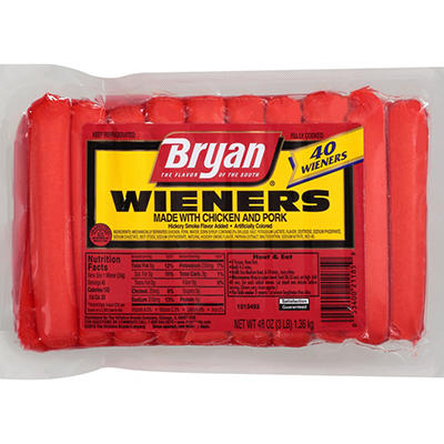 Bryan Wieners - 40 ct.