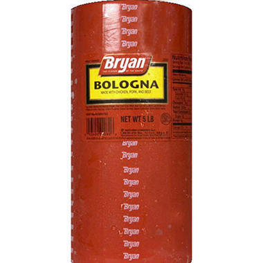 Bryan® Meat Bologna Stick - 5 lbs.