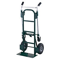 Super Brute 900 lb. Convertible Dual Purpose Hand Truck - Green