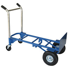 Super Brute 900 lb. Convertible Dual Purpose Hand Truck - Blue