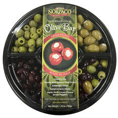 Norpaco International Olive Bar Party Tray (1.78 lbs.)