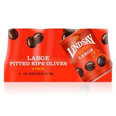 Lindsay® Large Pitted Olives - 6/6oz