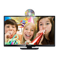"32"" Class Magnavox LED 720p HDTV w/ Built-in DVD Player"