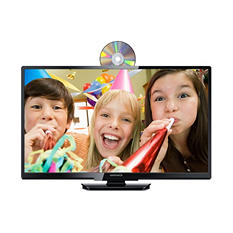 "28"" Class Magnavox LED 720p HDTV w/ Built-in DVD Player"