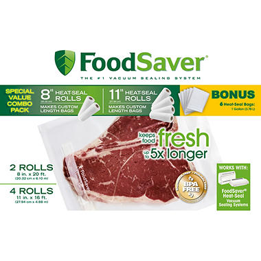 FoodSaver� Roll Combo Pack