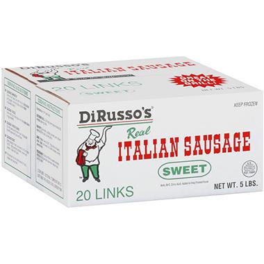 DiRusso's® Sweet Italian Sausage - 20 ct.