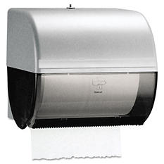 KCCberly-Clark Professional* - Omni Roll Towel Dispenser, 10 1/2 x 10 x 10 -  Smoke/Gray