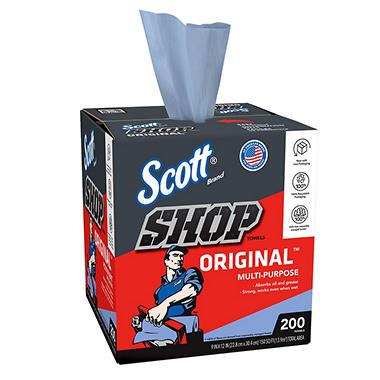Scott Shop Towels Pop-Up Box - 8 boxes
