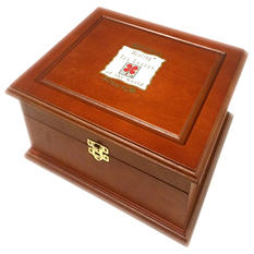 Healing Tea Leaves of the World - Tea Chest (Choose your finish)