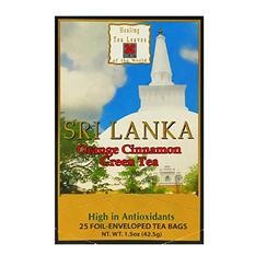 Healing Tea Leaves Green Tea Orange Cinnamon Teabags (25 ct., 6 pk.)