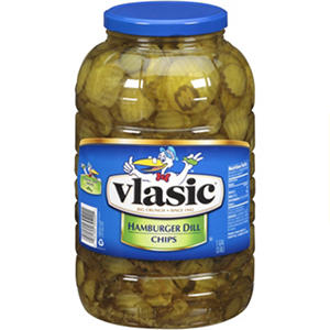 Vlasic® Hamburger Dill Chips - 1 gallon jar