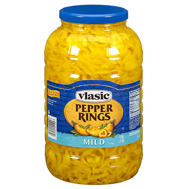 Vlasic® Banana Pepper Rings Mild - 1gal