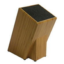 Kapoosh Bamboo Knife Block