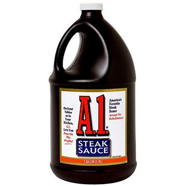 A-1® Steak Sauce - 1 gallon jug