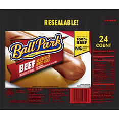 Ball Park Beef Franks - 24 ct.