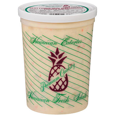 Hawaiian Eateries Best Foods Real Mayonnaise Potato Salad - 5 lb.