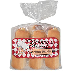Barney's Bakery Pepperoni and Cheese Roll