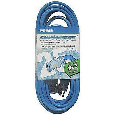 GlacierFlex® Cold Weather Extension Cord - 25ft