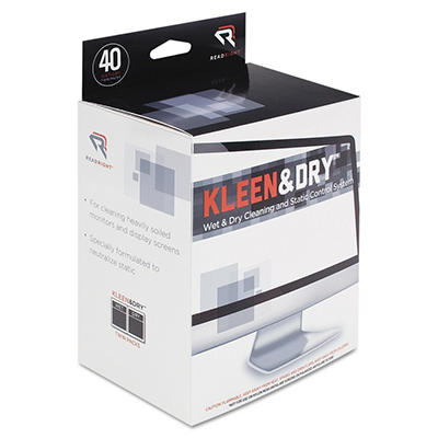 Kleen & Dry Screen Cleaner Wet Wipes - 40 ct.