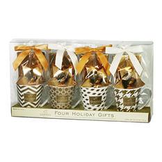 Godiva Mug Gift Set (4 mugs)