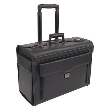Bond Street Computer/Catalog Case On Wheels