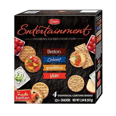 Dare Entertainment Premium Cracker Collection (2.03 lbs., 4 cartons)