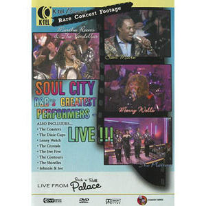Soul City R&B's Greatest Performers - Music DVD